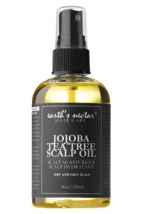 Earths nectar jojoba scalp oil