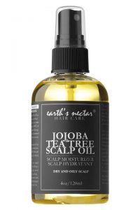 Earths nectar jojoba scalp oil